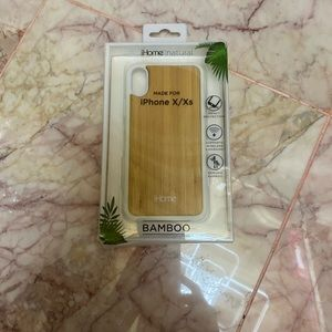 Bamboo phone cover for iPhone X ax's
